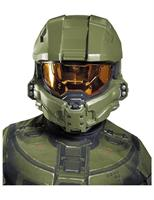 Halo Master Chief Costume Half Mask Child One Size