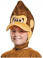 Super Mario Bros Nintendo Donkey Kong Costume Headpiece Child One Size