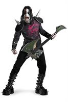Metal Mayhem Kiss Style Costume Adult