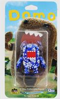 "Domo Qee 2"" Tropical Metallic Blue Mini Figure"