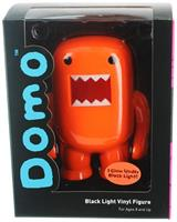 "Domo 4"" Vinyl Figure: Black Light Orange"