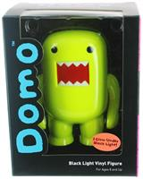 "Domo 4"" Vinyl Figure: Black Light Yellow"
