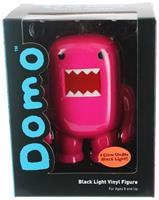 "Domo 4"" Vinyl Figure: Black Light Purple"