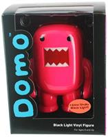 "Domo 4"" Vinyl Figure: Black Light Red"