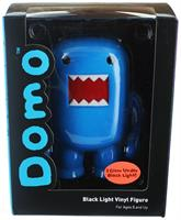 "Domo 4"" Vinyl Figure: Black Light Blue"