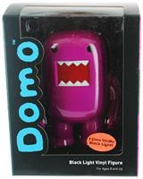 "Domo 4"" Vinyl Figure: Black Light Grape Soda"
