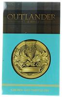 "Outlander Crown and Thistle 1.75"" Lapel Pin"