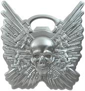 The Expendables Skull Logo Metal Bottle Opener