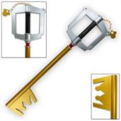 Kingdom Hearts Mickey Keyblade Foam Prop Replica, Gold Version