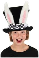 White Rabbit Topper Child Top Hat