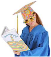 Dr. Seuss Oh The Places You Will Go Costume Graduation Cap Adult