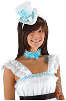 Alice Top Hat and Collar Unisize Costume Accessory Kit