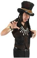 Voodoo Medicine Man Witch Doctor Hat Adult Costume Accessory One Size