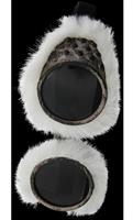 Faux Fur Lined Explorer Costume Goggles Adult