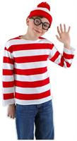 Where's Waldo Costume Kit Child