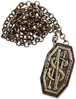 Fantastic Beasts Newt's Monogram Costume Pendant Pin with Chain