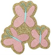 My Little Pony Fluttershy Glitter Costume Patch Unisize