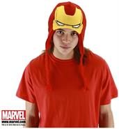 The Avengers Iron Man Costume Knit Laplander Hat