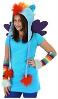 My Little Pony Rainbow Dash Costume Hoodie Hat