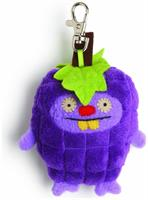 "Ugly Dolls Fruities 4"" Plush Clip-On: Trunko Grape"