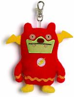 "Ugly Dolls DC Comics 4"" Plush Clip-On: Jeero Flash"