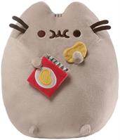 "Pusheen w/ Potato Chips 9.5"" Plush"