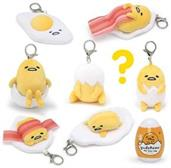 Gudetama Series 1 Blind Box Plush Keychain - One Random