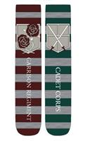 "Attack on Titan ""Cadet Corps/ Garrison Regiment"" Unisex Crew Cut Socks: 2-Pack"