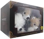 Game of Thrones Exclusive 6-Inch Plush Direwolf Prone Cub 6-Pack
