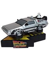 "Back to the Future 2 7"" DeLorean Time Machine Premium Motion Statue"