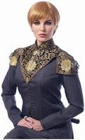 Medieval Queen Adult Costume Wig | Dark Blonde