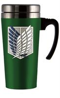 Attack On Titan Scout Logo Travel Mug