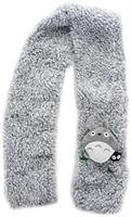 My Neighbor Totoro Gray Small Shaggy Scarf