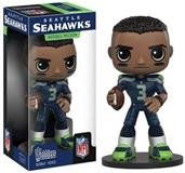 Seattle Seahawks NFL Funko Wobbler Bobble Head - Russell Wilson