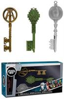 Keys: Ready Player One- 3PK- Green, Clear, Copper