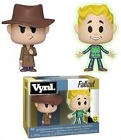 Fallout Funko VYNL. Figure 2 Pack - Adamantium Skeleton & Mysterious Stranger