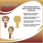 The Golden Girls 4 Inch Funko POP! Pin | Blanche