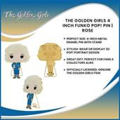 The Golden Girls 4 Inch Funko POP! Pin | Rose