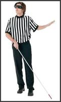 Blind Referee Adult Costume Kit
