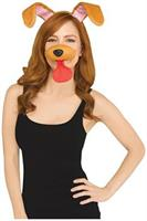 Snapchat Brown Dog Filter Adult Costume Kit
