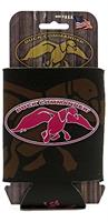 Duck Dynasty Logo Can Cooler Koozie Brown With Pink Logo