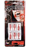 Liquid Costume Blood Capsules Kit