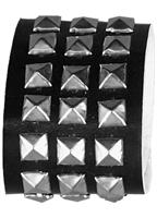 Studded Triple Costume Wristband