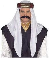 Arabian Sultan Costume Headpiece Adult Men Standard