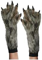Werewolf Costume Gloves Adult One Size