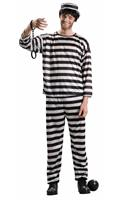 Prisoner Costume Adult Men
