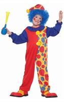 Polka Dot Clown Costume Child