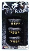Zombie Prosthetic Teeth Costume Accessory - Set of 3