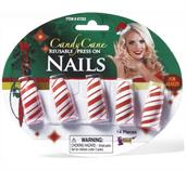 Candy Cane Fingernails Costume Accessory