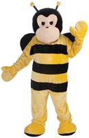 Deluxe Plush Adult Bumble Bee Mascot Costume